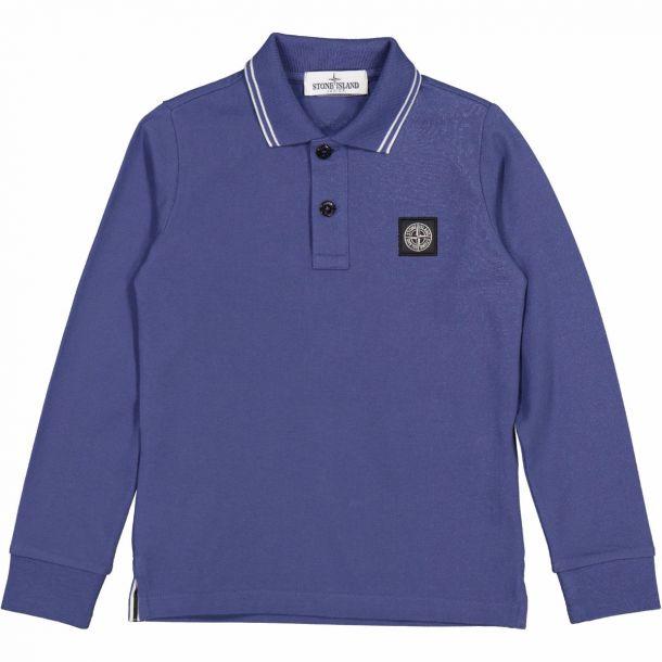 Boys Blue Branded Polo Top