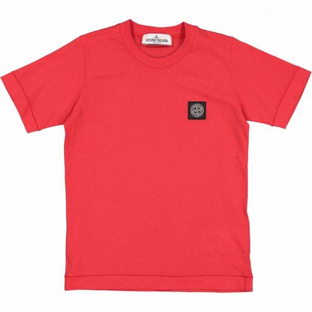 Boys Red Badge Logo T-shirt