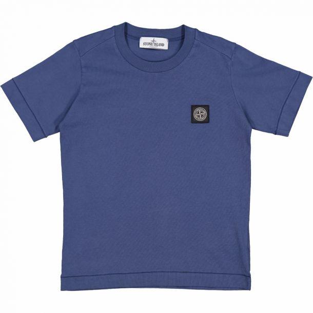 Boys Blue Badge Logo T-shirt