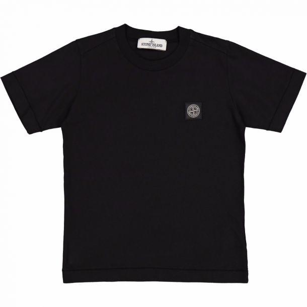 Boys Black Badge Logo T-shirt