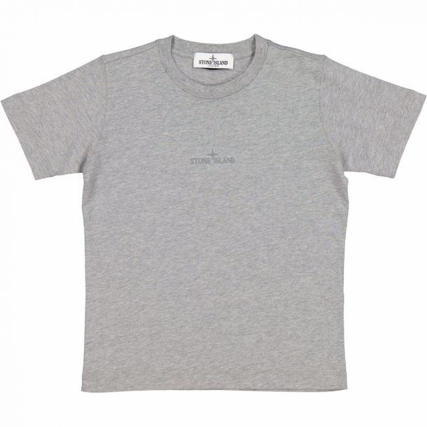 Boys Grey Branded T-shirt