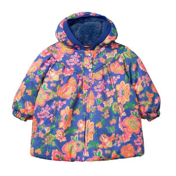 Girls Cheeky Flower Coat