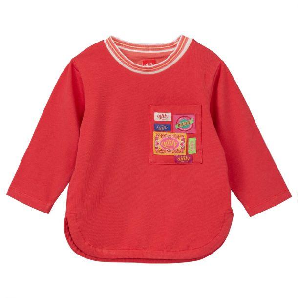 Girls Terrif Red Badge T-shirt