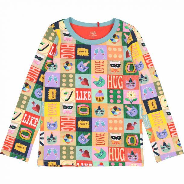 Girls Tolsy Blocks T-shirt