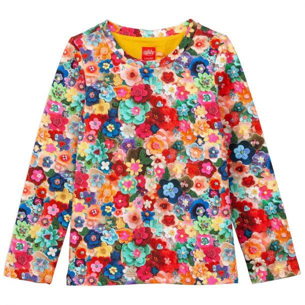 Girls Tolsy Flower T-shirt