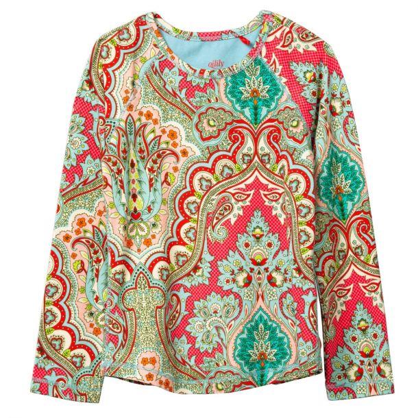 Girls Tomble Paisley T-shirt