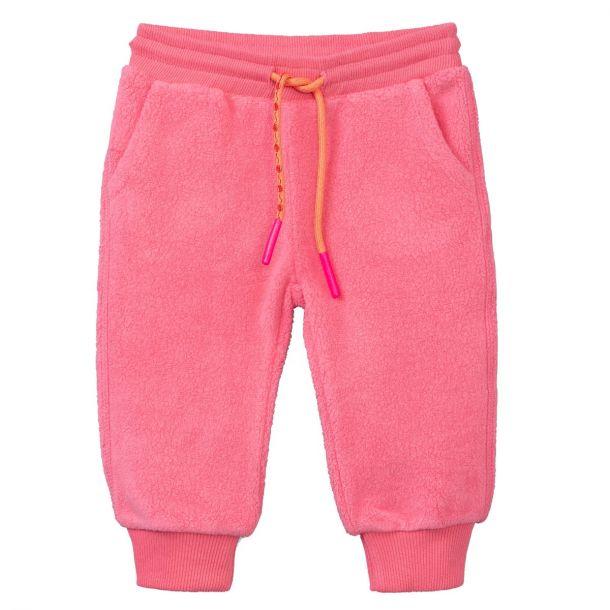 Girls Poffles Pink Sweat Pants