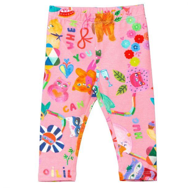Girls Peppy Print Leggings