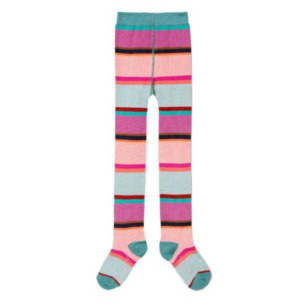 Girls Makawi Stripe Tights