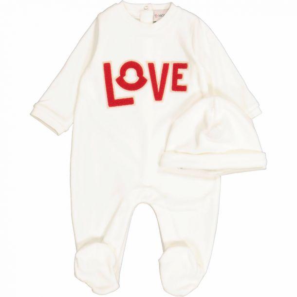 Baby Ivory Love Romper