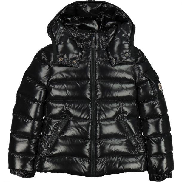 Girls Bady Black Down Jacket