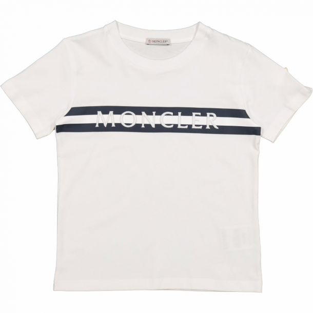 Boys White Logo T-shirt