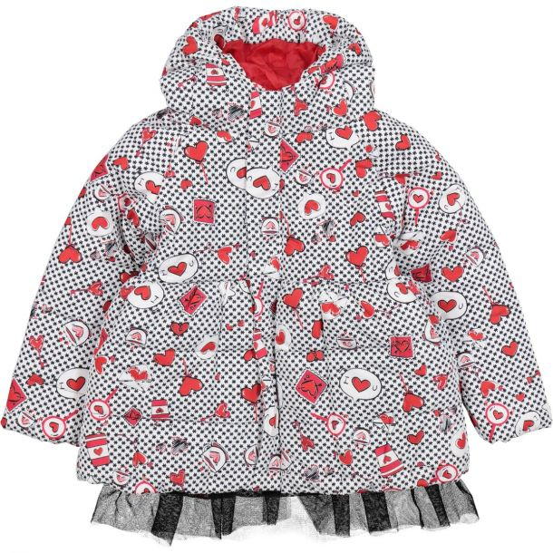 Girls Harpster Heart Coat