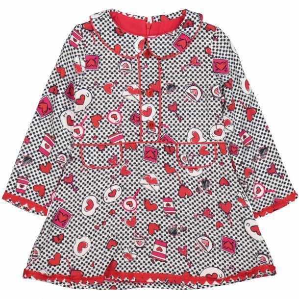 Girls Harpster Heart Dress
