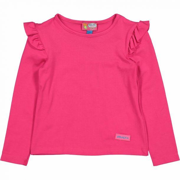 Girls Dixie Pink Frill T-shirt