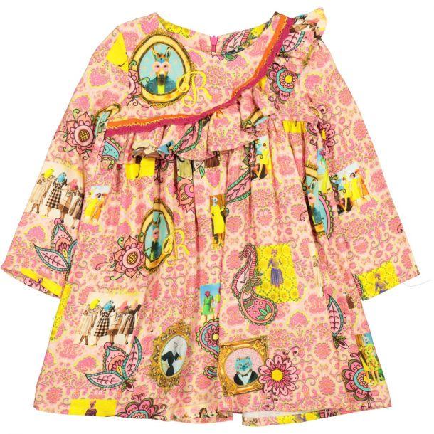 Girls Bonners Printed Dress