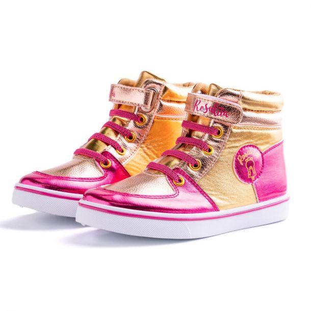 Girls Bonners Metallic Boots