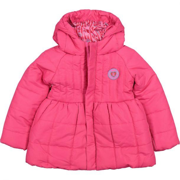 Girls Spencer Pink Padded Coat