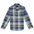 Boys Long Sleeve Check Shirt