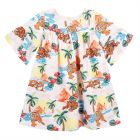 Girls Hawaii Print Dress