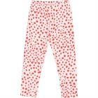 Girls Tiska Red Dots Leggings