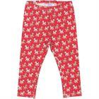 Baby Girls Red Poddle Leggings