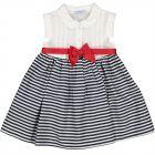 Baby Girls Bow Stripe Dress