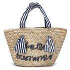 Girls Hello Summer Basket Bag