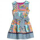 Girls Algonquin Print Dress