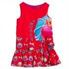 Girls Moraine Print Dress