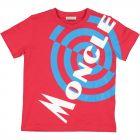 Boys Moncler Logo T-shirt