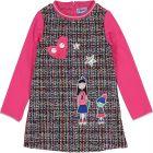 Girls 'ola' Tweed Dress