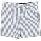 Boys Blue Striped Shorts