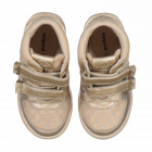 Baby Girls Gold Metallic Boot